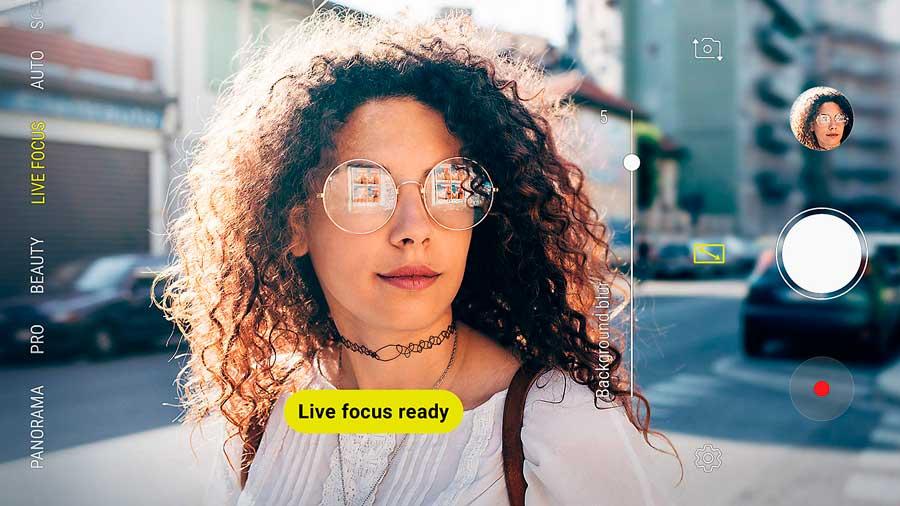 el Samsung™ Galaxy™ A7 llega a España(pais) live focus
