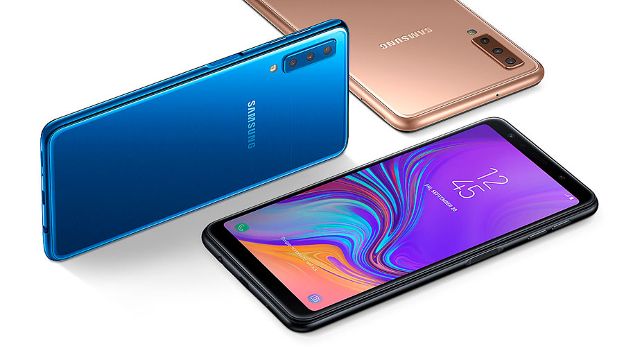 el Samsung™ Galaxy™ A7 llega a España(pais) colores
