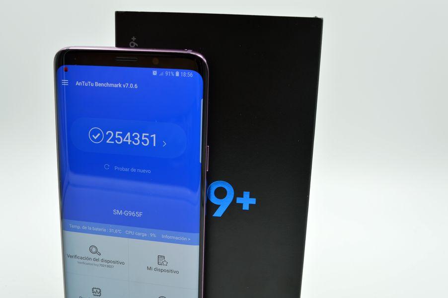 Samsung Galaxy S9+ potencia