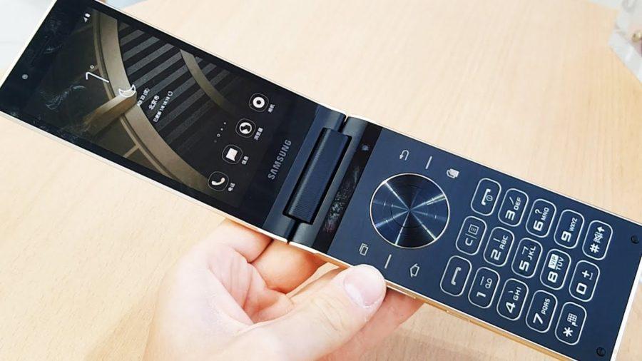 Surgen imágenes de un reciente móvil clásico de concha de Samsung