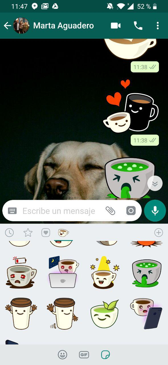 sticker de whatsapp