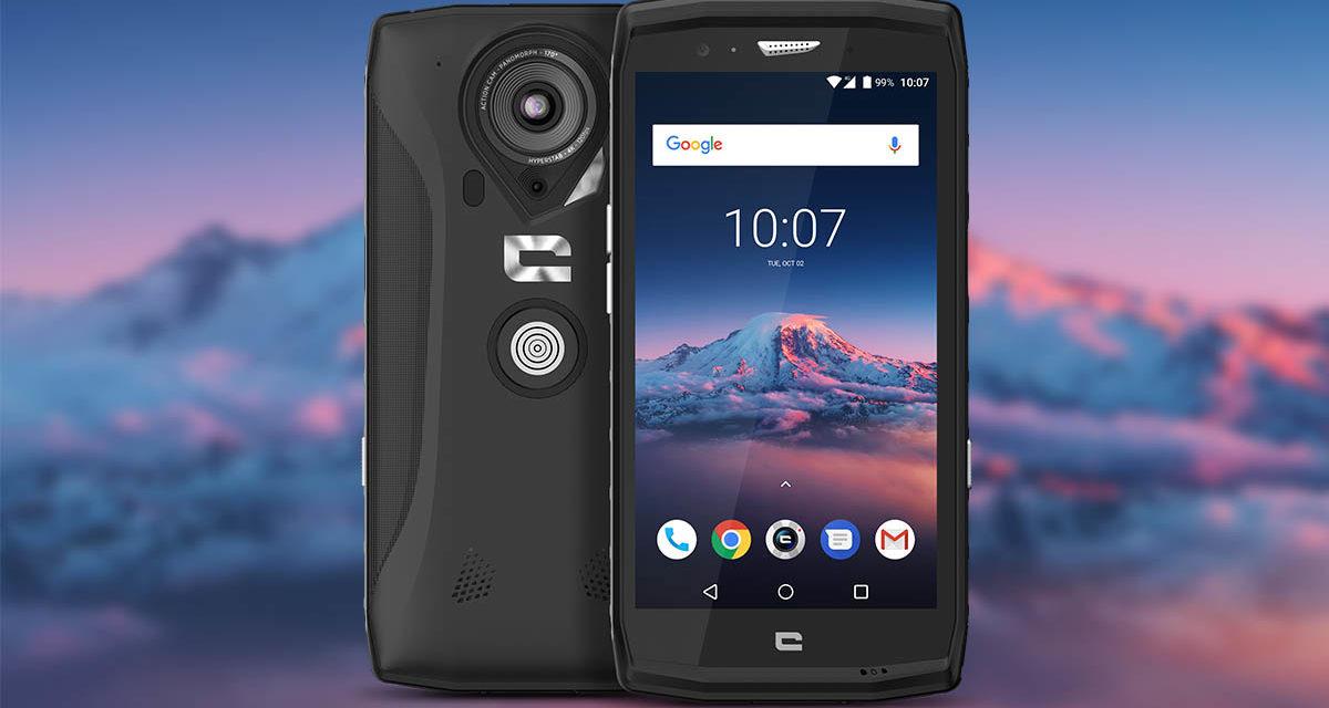 Crosscall presenta el Trekker-X4, un teléfono con una Action Cam incorporada