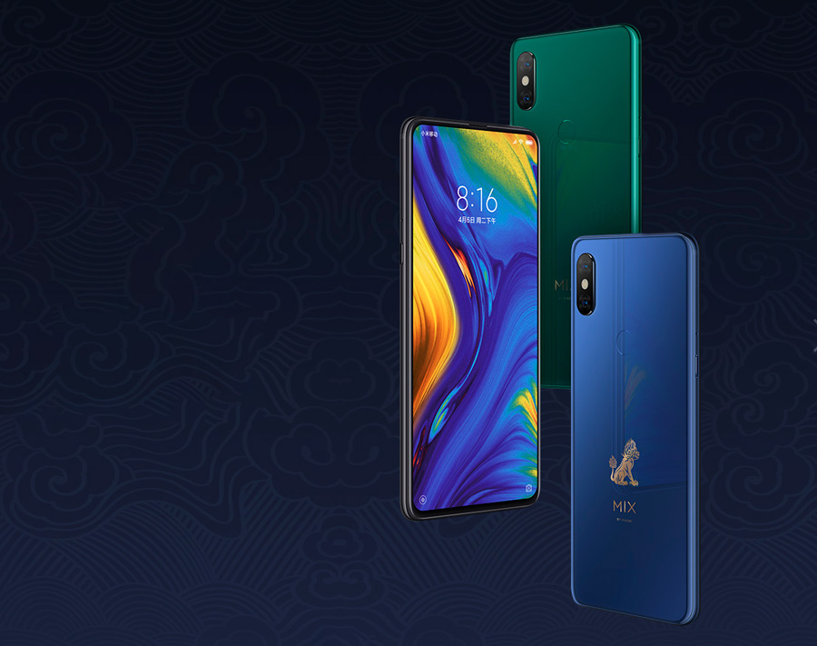 comparativa Honor Magic 2 vs Xiaomi Mi Mix 3 vs Oppo Find X trasera Mi Mix 3