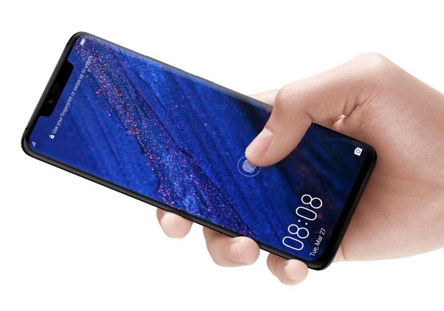 Huawei Mate 20 Pro lector de huellas