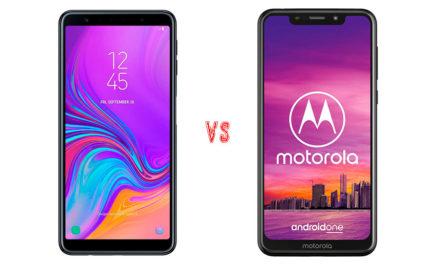 Comparativa Samsung Galaxy A7 2018 vs Motorola Moto One