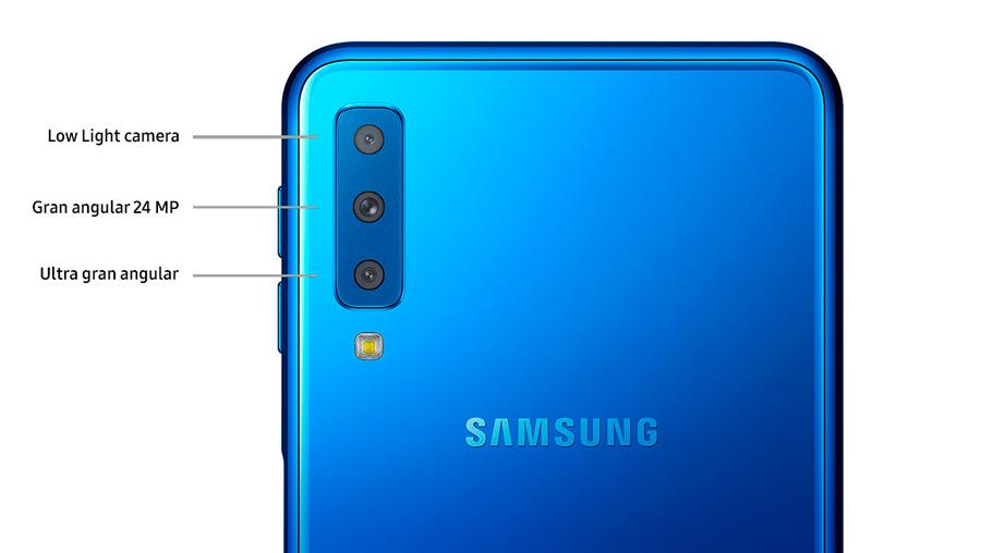 comparativa Samsung Galaxy A7 2018 vs Motorola Moto One cámaras A7