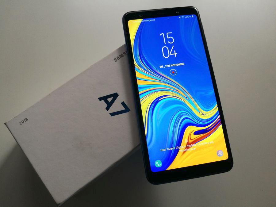 comparativa Samsung Galaxy A7 2018 vs Motorola Moto One final A7