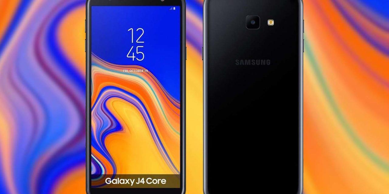 El Samsung Galaxy J4 Core será el próximo móvil de Samsung con Android Go