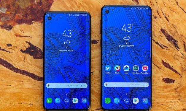 El Samsung Galaxy S10 tendrá una versión con pantalla plana