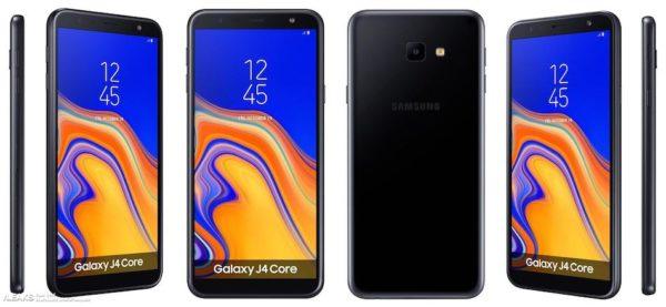 Samsung Galaxy j4 Core diseño