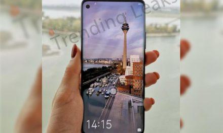 Así se ve el Huawei Nova 4 con cámara bajo la pantalla