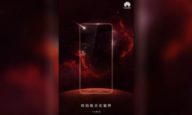 Huawei Nova 4 podría ser el primer móvil con cámara integrada en la pantalla