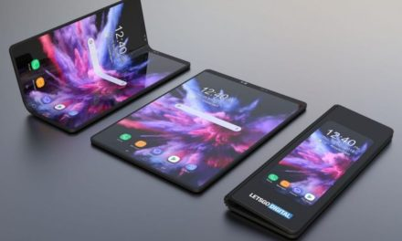 Nuevas imágenes del móvil plegable de Samsung