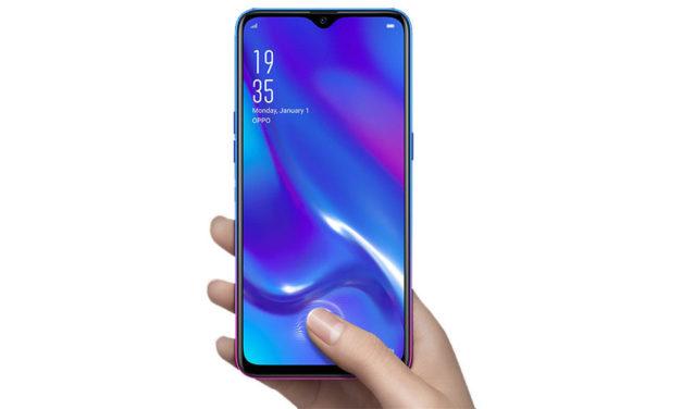 5 móviles con lector de huellas bajo la pantalla