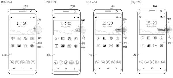 patente de samsung botones virtuales