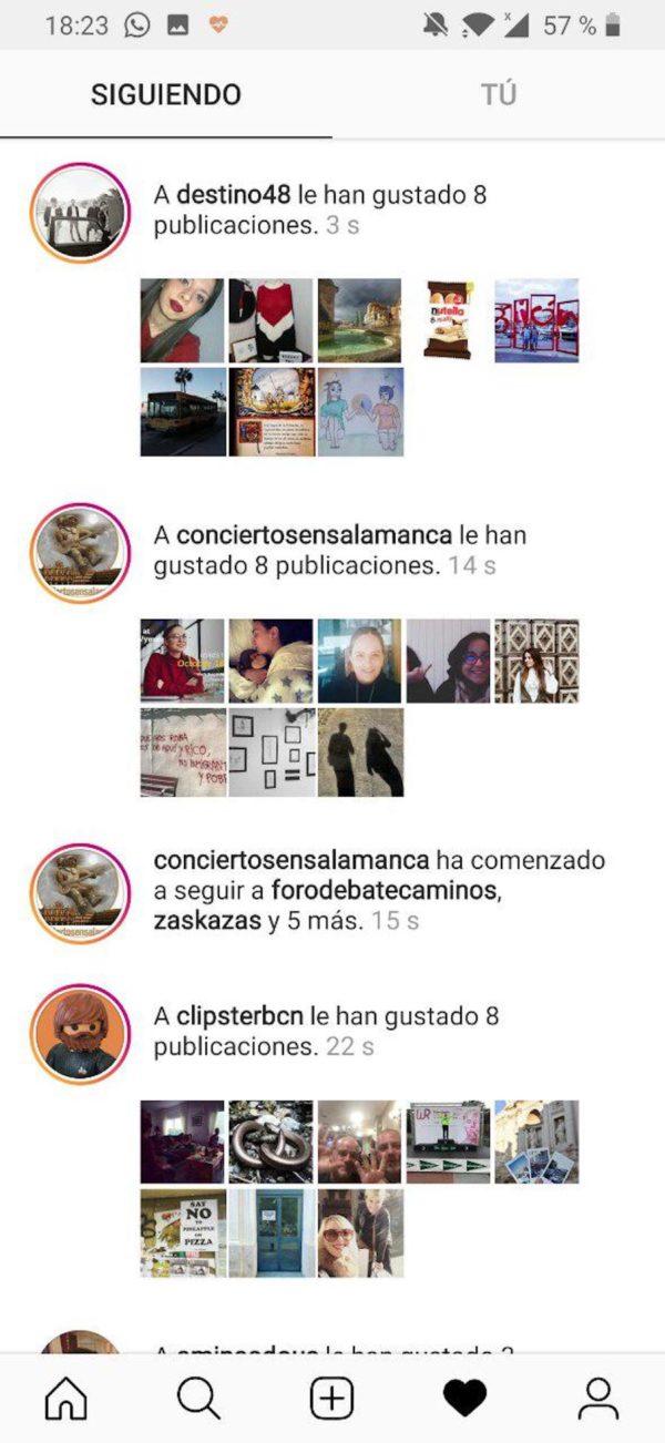 perfil falso instagram