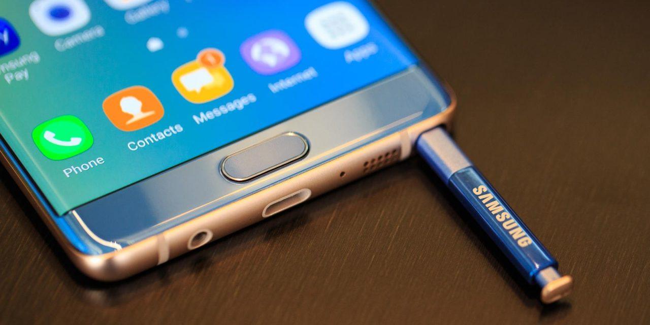 El Samsung Galaxy Note 8 se actualiza al parche de seguridad de noviembre
