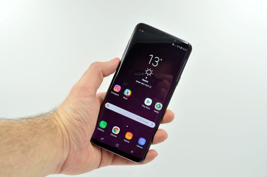 El Samsung Galaxy S9+ recibe una nueva actualización con mejoras