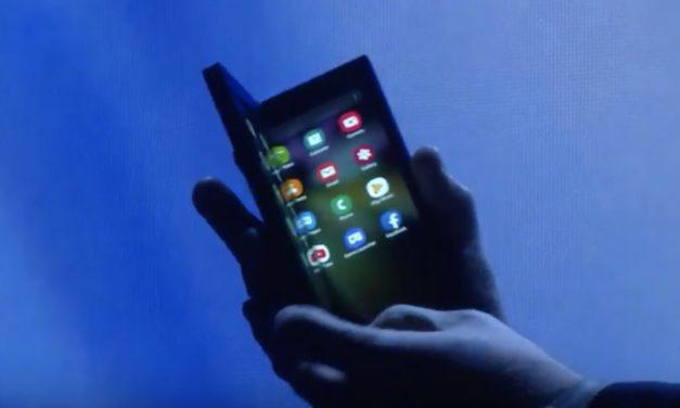 El móvil flexible de Samsung podría integrar una batería gigantesca