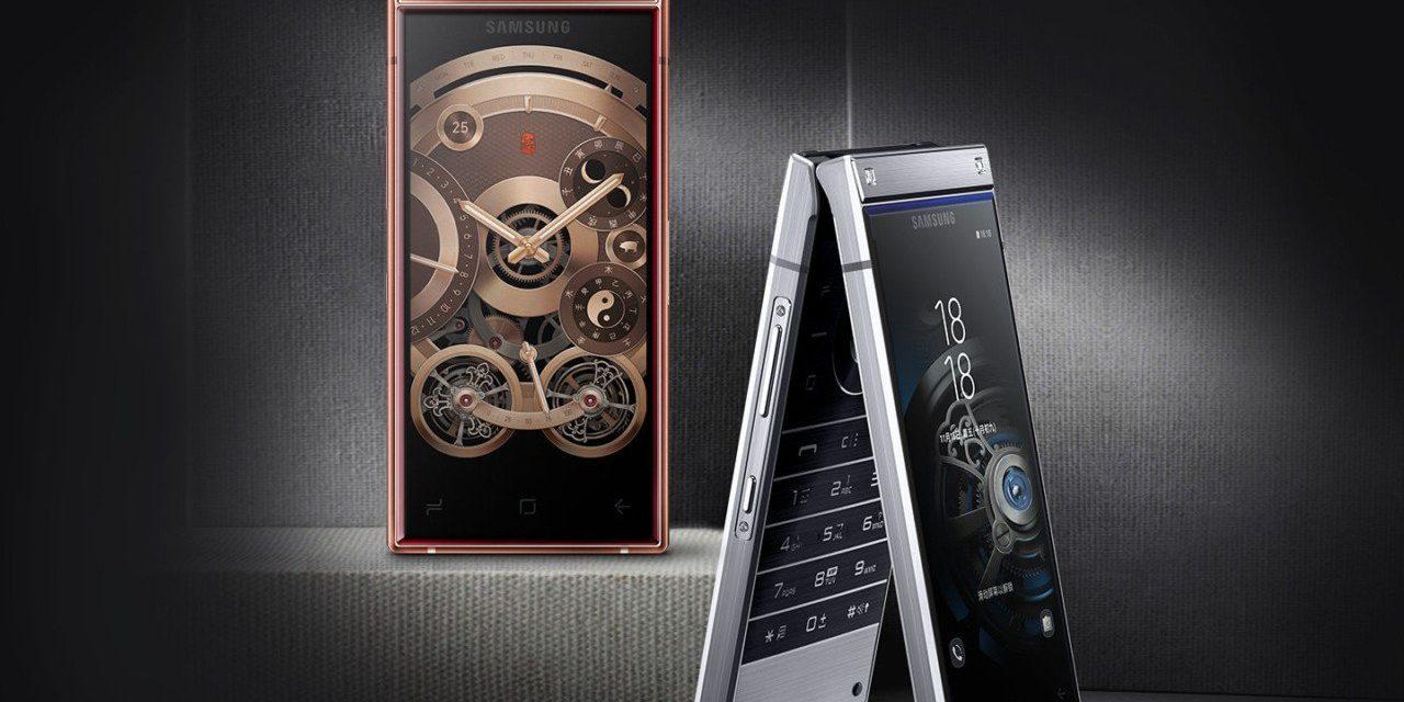 Samsung W2019, así es el móvil tipo concha con Snapdragon 845 y dos pantallas