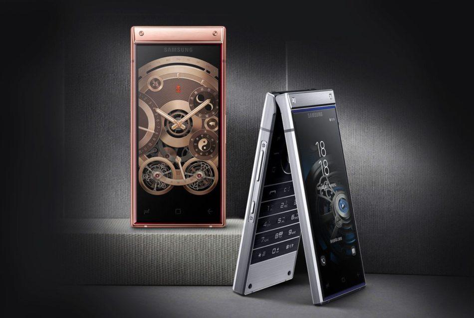 Samsung Galaxy W2019, así es el móvil tipo concha con Snapdragon 845 y dos pantallas