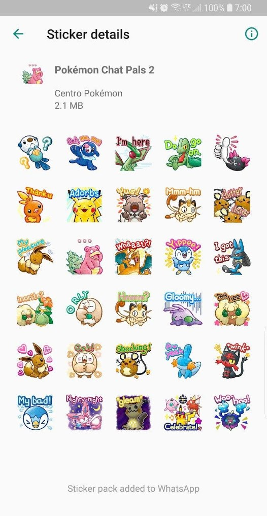 stickers de pokemon