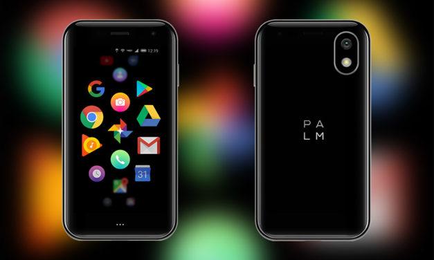 Vodafone lanza Palm, un smartphone ultraligero compatible con Vodafone OneNumber