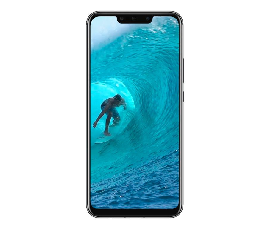 comparativa Huawei Mate 20 Lite vs Samsung Galaxy A7 2018 pantalla Mate 20 Lite