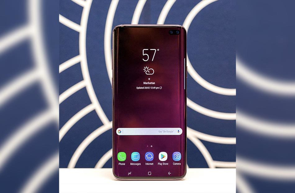 diseño samsung galaxy s10 plus