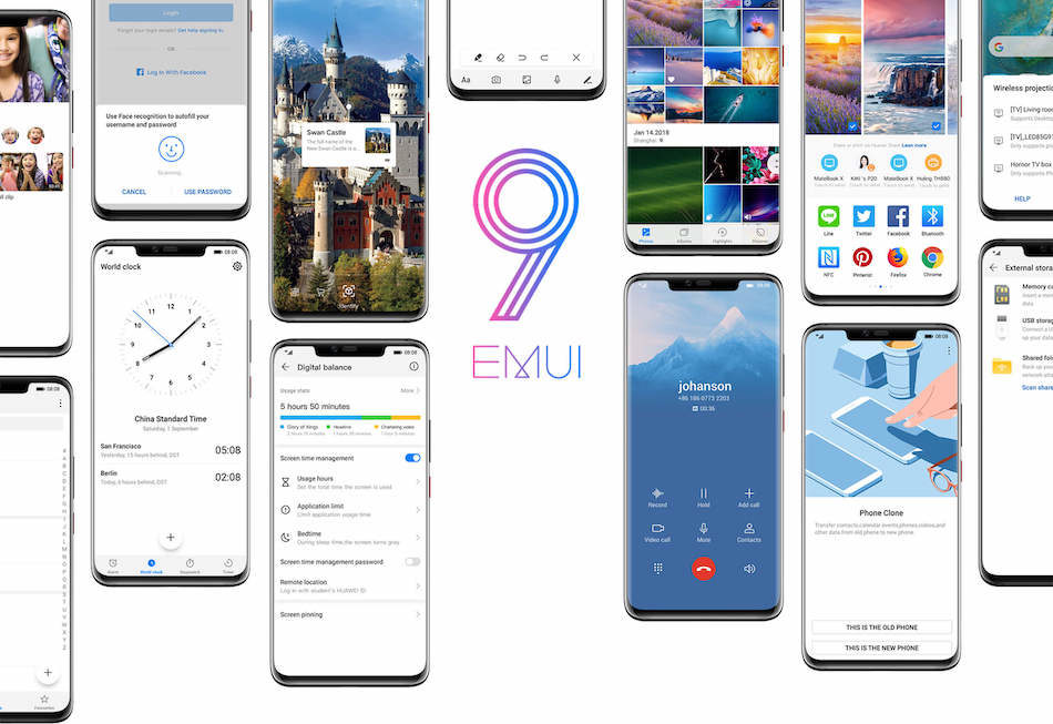 emui 9 android 9 pie huawei