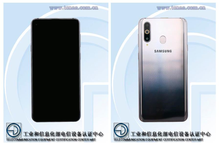 Se filtra el diseño y algunas características del Samsung Galaxy A8s