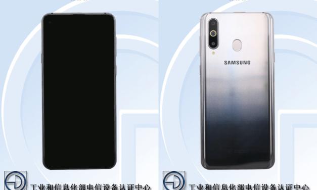 El móvil de Samsung con cámara en pantalla aparece en imágenes reales