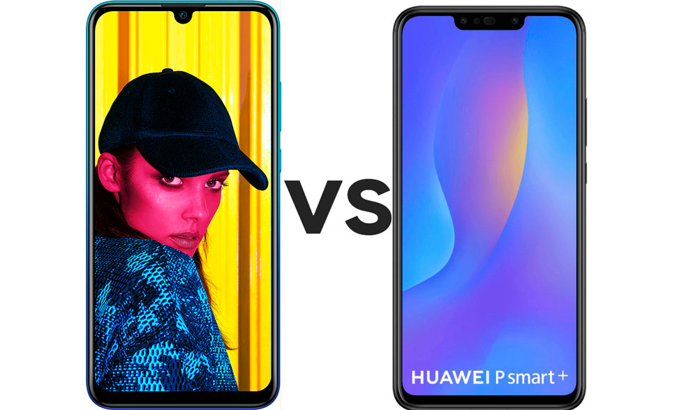 Huawei P Smart 2019 vs Huawei P Smart+, comparativa