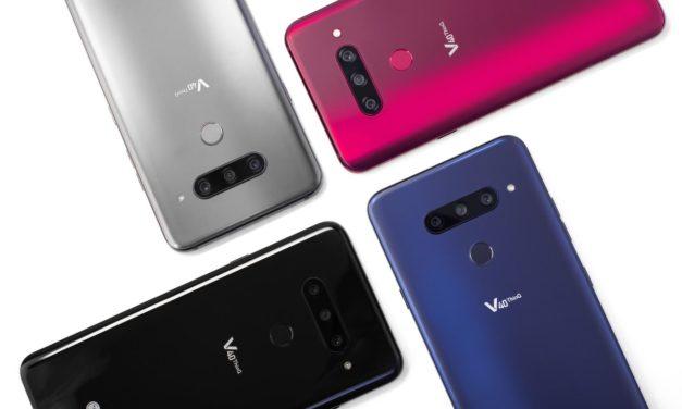 El LG V40 ThinQ llegará a Europa