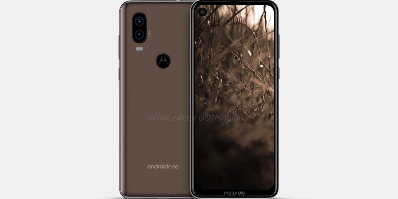 Este sería el diseño del primer móvil de Motorola con cámara en pantalla