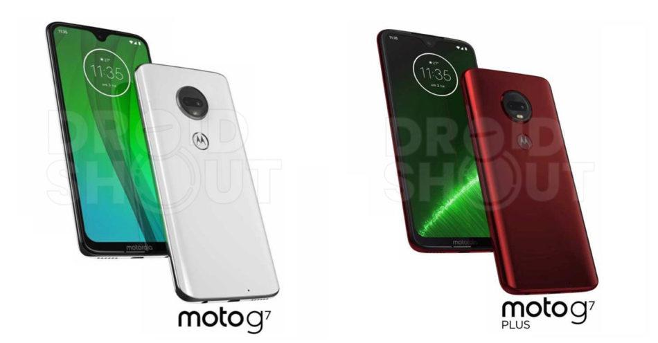 Al descubierto imágenes y especificaciones de los Motorola Moto G7