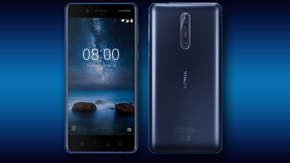 La actualización a Android 9 Pie llega a los móviles Nokia 8