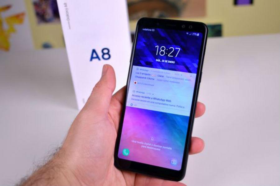 Samsung Galaxy A8 camara