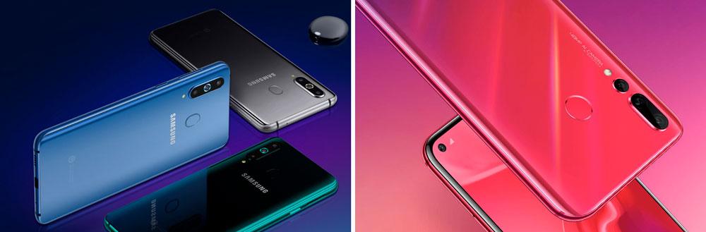 Comparativa Huawei Nova 4 vs Samsung Galaxy A8s