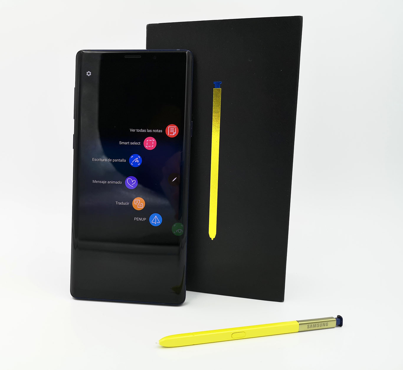 Los Samsung Galaxy Note 9 comienzan a recibir Android 9 Pie