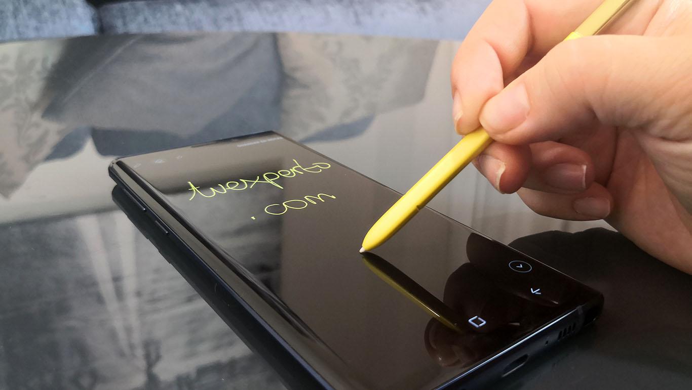 El Samsung Galaxy Note 9 recibe otra beta de Android 9 Pie