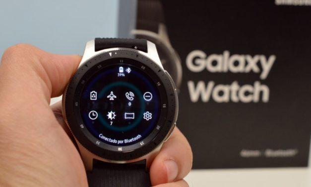 El próximo Samsung Galaxy Watch podría llevar sensor de huellas en pantalla