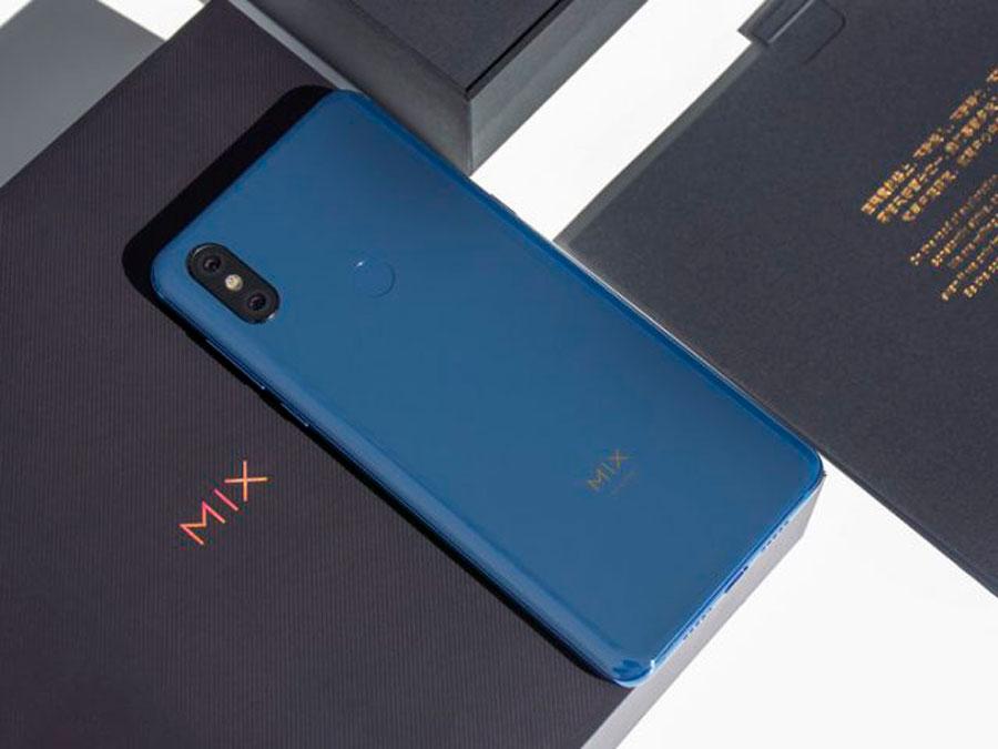 nuevo Xiaomi Mi Mix 3 con procesador Snapdragon 855