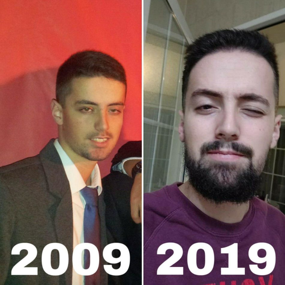 10 years challenge meme 8
