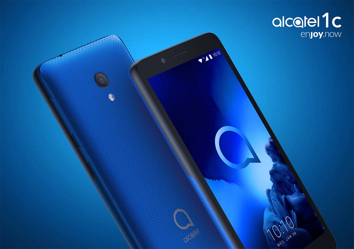 Alcatel 1C (2019), gama de entrada con Android GO y pantalla panorámica
