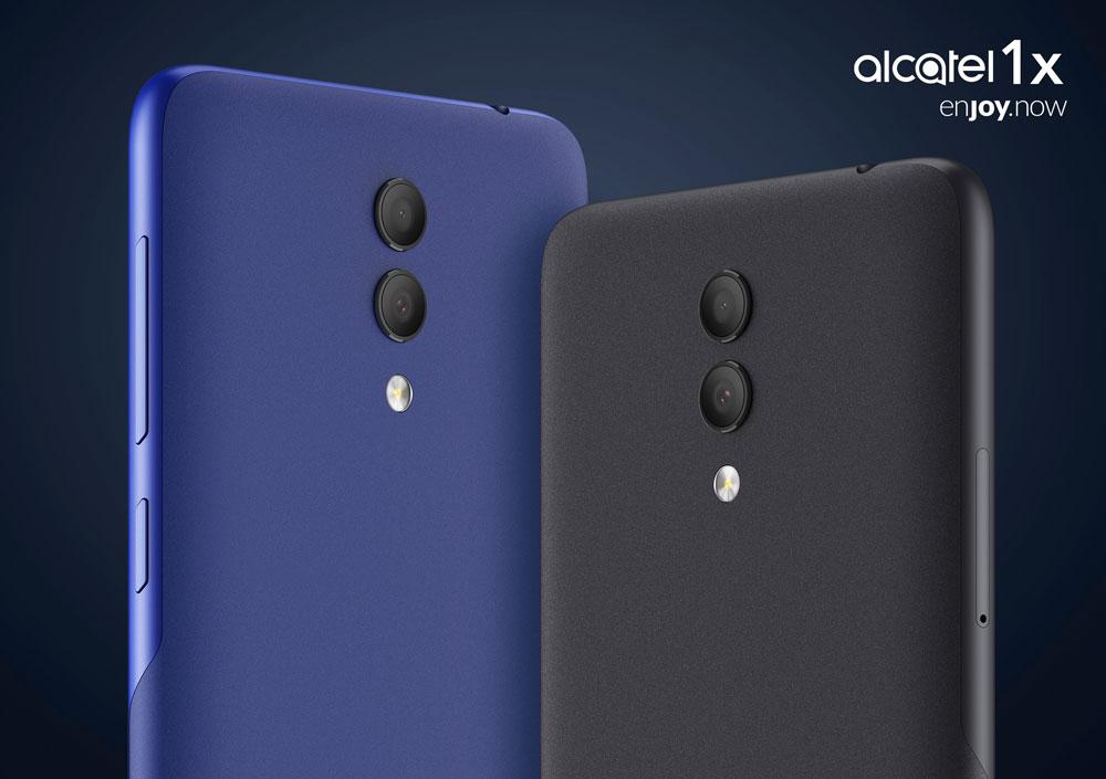 Alcatel 1X, móvil económico con doble cámara y pantalla HD