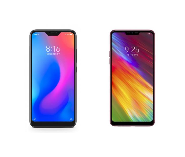 Comparativa LG Q9 vs Xiaomi Redmi Note 6 Pro