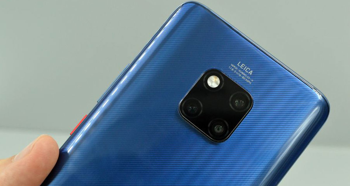 Los Huawei Mate 20 Pro y Mate 20 X se actualizan con novedades en la cámara
