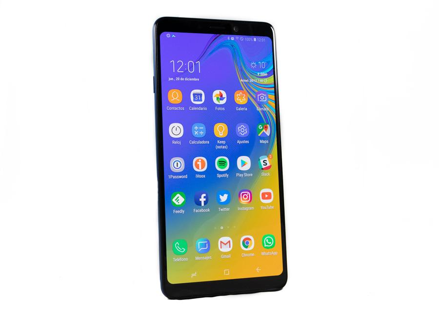 comparativa Samsung™ Galaxy™ A9 vs Samsung™ Galaxy™ S9 monitor A9