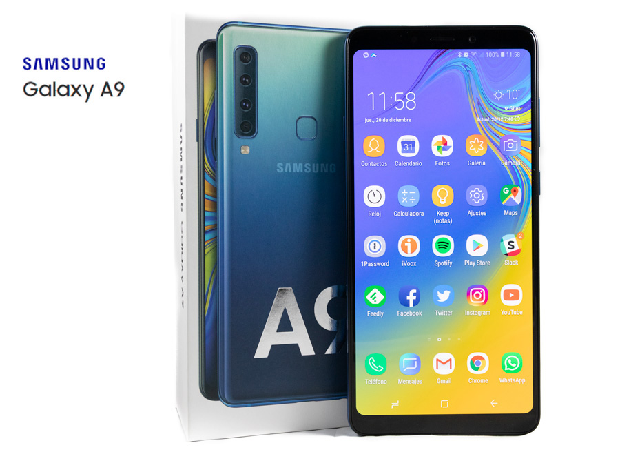 comparativa Samsung Galaxy A9 vs Samsung Galaxy S9 final A9